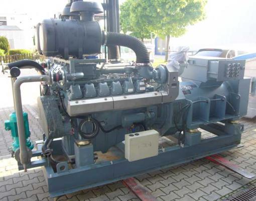 750 Kva Stand By Generator Set With Man Engine D 2842 Le 201