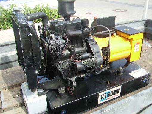 diesel generator set 20 kva with 3 cylinder mitsubishi engine. Black Bedroom Furniture Sets. Home Design Ideas