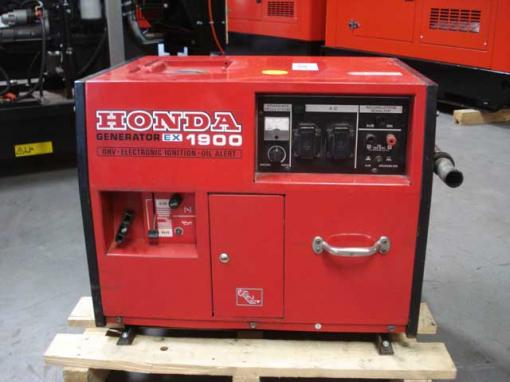 1 9 kva schallisolierter stromerzeuger original honda ex 1900. Black Bedroom Furniture Sets. Home Design Ideas