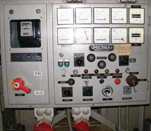 35 kVA Fahrbares Polyma Stromaggregat mit Deutz Motor F 4 L 912