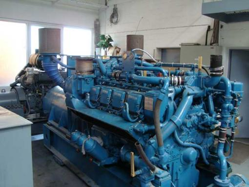 Stand By Diesel Generator Set System 900 Kva With Mtu