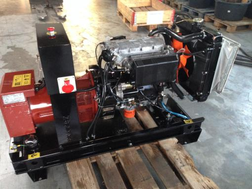 Diesel Generator Set With Lombardini Ldw1204 Engine
