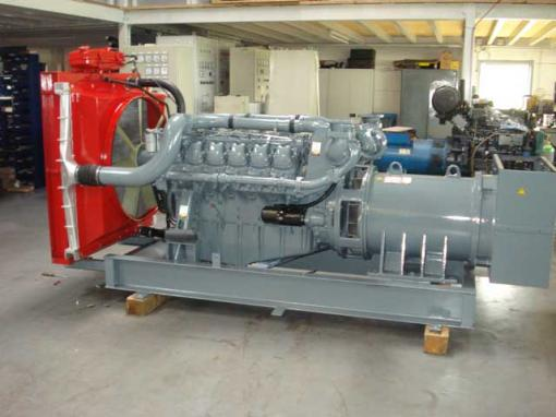 Generating Set 500 kVA with MAN D 2842 LE 21 Engine