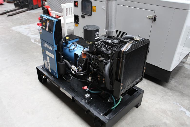 dieselgenerator als stromerzeuger mit mitsubishi s3l2 sd motor. Black Bedroom Furniture Sets. Home Design Ideas