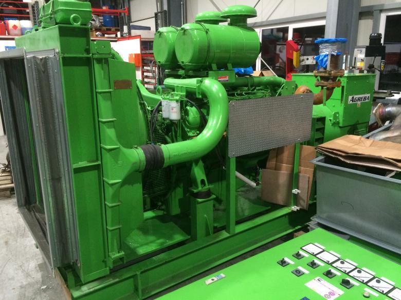 Diesel Generator Set 380 kVA with MAN Engine D2842LE