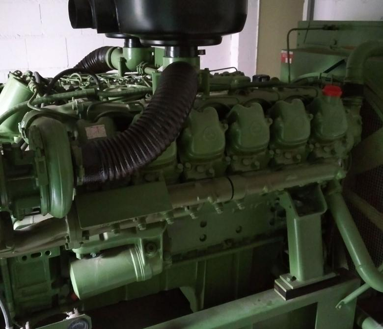 Ersatzstromaggregat As Power Generator With Mercedes Engine