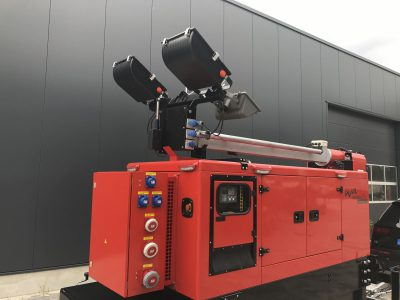 60 kVA Flutlichtaggregat Steckdosen IT-TN-Netz