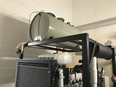 Ersatzstromaggregat nach VdS CEA 4001 für die Sprinklerversorgung