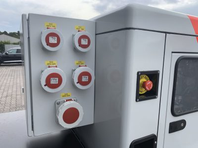 Yanmar Stromerzeuger mit Steckdosen nach DGU