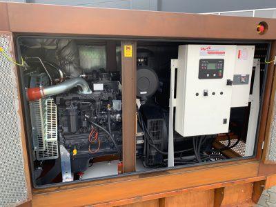 Netzersatzanlage mit ComAP AMF 25 Notstromsteuerung in CORTEN Stahl