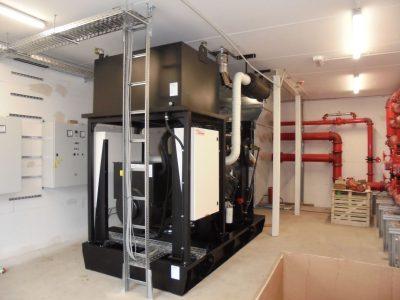 Ersatzstromaggrgeat für Sprinkler Betrieb nach VdS und DIN 6280-13