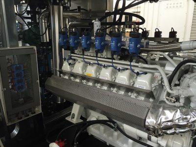 GAS Netzersatzanlage