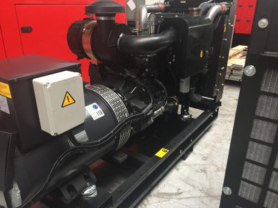 Netzersatzaggregat für die Notstromversorgung 160 kVa mit Iveco Motor
