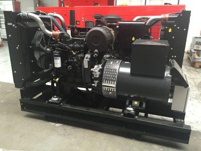 Netzersatzanlage mit Iveco Motor