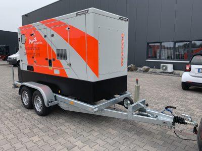 Mobiles Ersatzstromaggregat 160 kVA