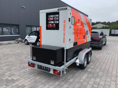 Stromversorgung mit Iveco Motor mobil 160 kVA