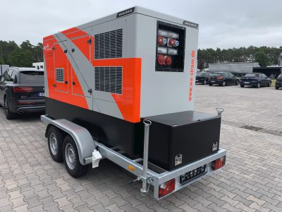 Sicherheitsstromversorgung mit Iveco Motor mobil 160 kVA