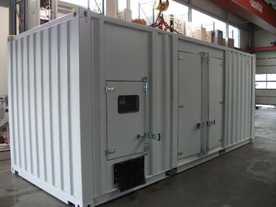 Netzersatzanlage im Container