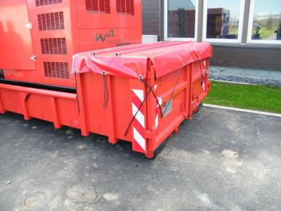 Netzersatzanlagen im Abrollcontainer mit Kabeltrommel
