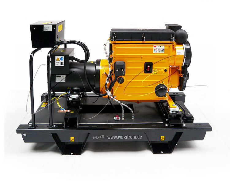 Hatz power generators series WA-H 4,5-32 kVA | WA Notstromtechnik on