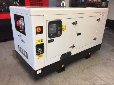 Yanmar Stromerzeuger wettergeschützt und schallgedämmt